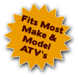 Fits any Make and Model ATV